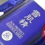 コーセー 雪肌精 サンプロテクト エッセンス ミルク N SPF50+/PA++++ の感想