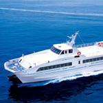 神戸空港から関西国際空港まで船のベイシャトルで30分で行ける