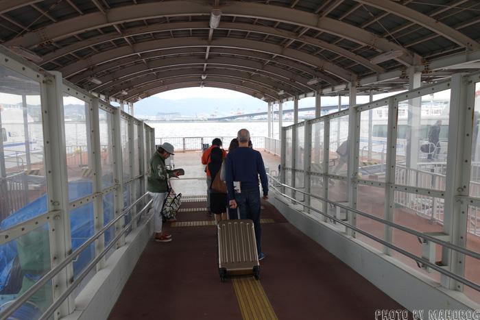 神戸関空ベイシャトル乗船口