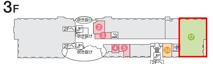 ファーストキャビン関西空港の場所