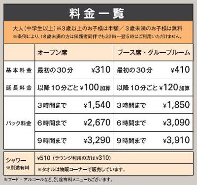 関西空港エアポートラウンジの料金