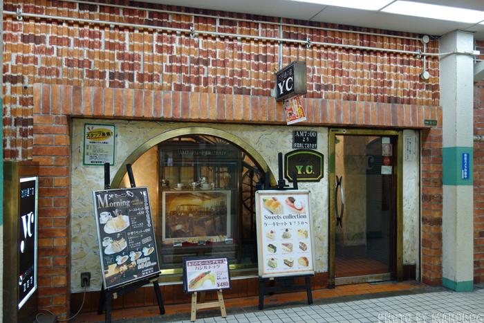 大阪梅田のYC入口