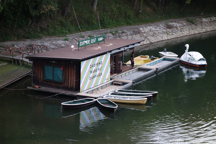 旭川のボート