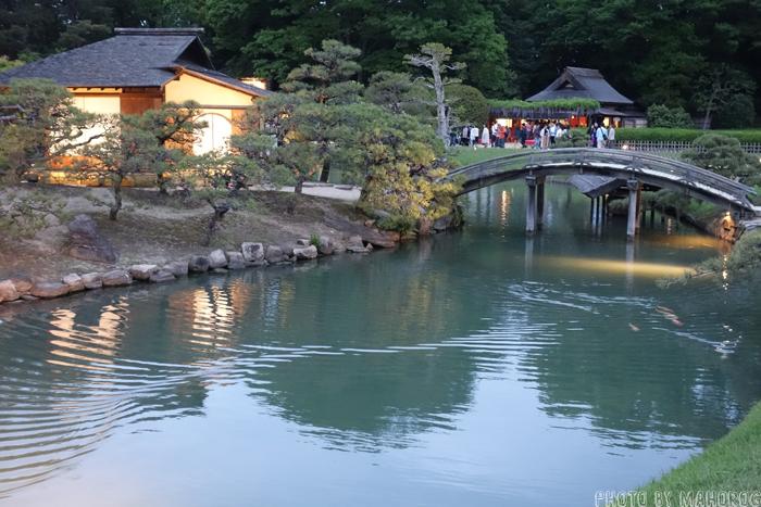 岡山後楽園の茶室