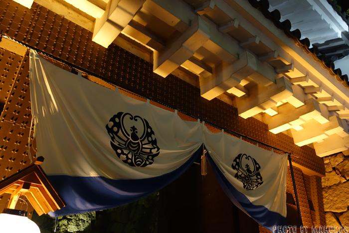 岡山城入り口
