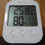 エアコンの冷房・除湿を切った後の湿度戻り(湿度の上昇)がひどい件