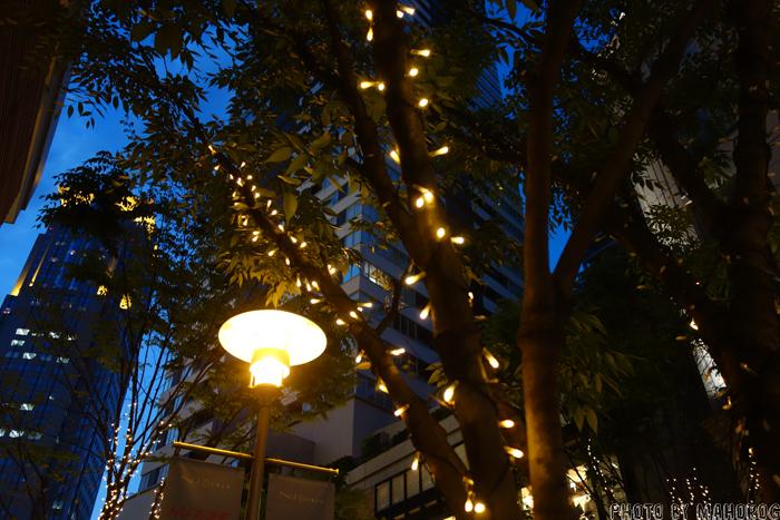 大阪梅田茶屋町の路地