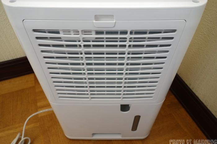 アイリスオーヤマ衣類乾燥除湿機DCE-6515の背面