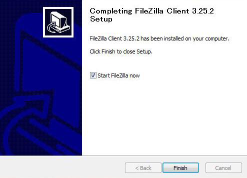 FileZillaのインストール