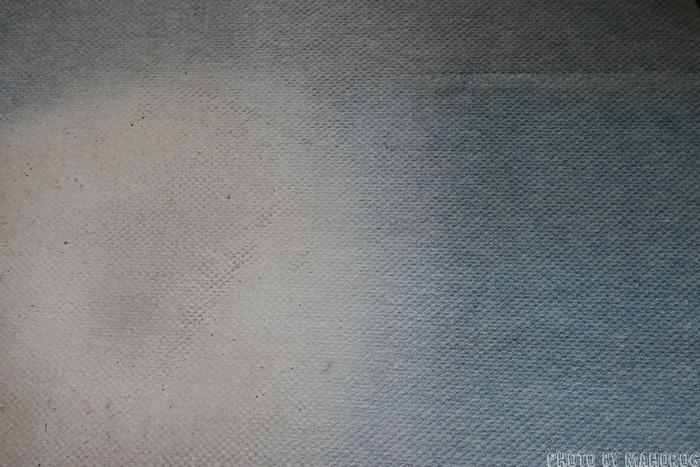 劣化したカーペット