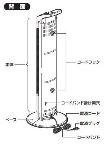 コロナ コアヒートスリムDH-917R