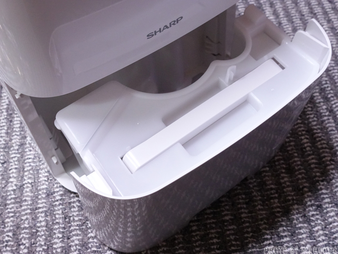 SHARP CV-G71-W コンプレッサー式プラズマクラスター除湿機のタンク
