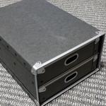 棚の収納用に無印良品の硬質パルプボックス引出式を10年以上ぶりに購入