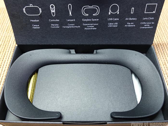 Oculus Goの眼鏡スペーサー