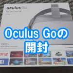 Oculus Goを開封してみた 同梱品や仕様などを紹介!保管方法と注意点