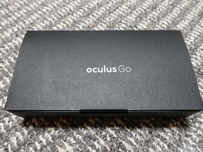 Oculus Goの同梱品の箱