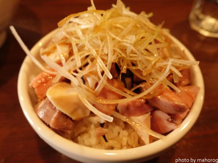 中華そばこびき(岡山市北区)のチャーシュー丼