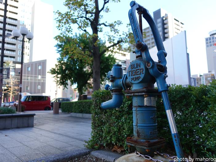 岡山市内のポンプ
